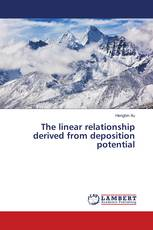 The linear relationship derived from deposition potential