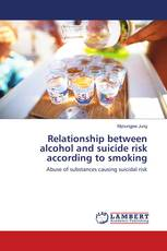 Relationship between alcohol and suicide risk according to smoking