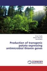 Production of transgenic potato expressing antimicrobial thionin genes