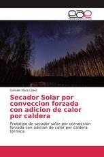 Secador Solar por conveccion forzada con adicion de calor por caldera