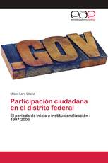 Participación ciudadana en el distrito federal