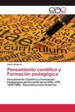 Pensamiento cientifico y Formación pedagógica