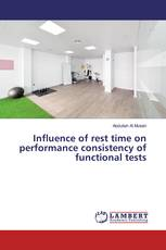 Influence of rest time on performance consistency of functional tests