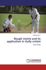 Rough matrix and its application in Gully cricket