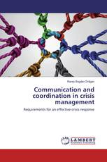 Communication and coordination in crisis management