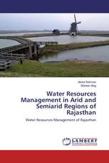 Water Resources Management in Arid and Semiarid Regions of Rajasthan
