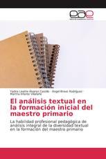 El análisis textual en la formación inicial del maestro primario