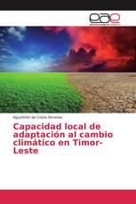 Capacidad local de adaptación al cambio climático en Timor-Leste