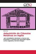 Adquisición de Cláusulas Relativas en Inglés
