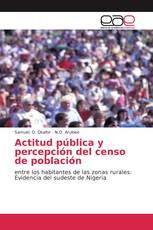 Actitud pública y percepción del censo de población