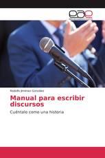 Manual para escribir discursos