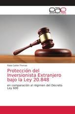 Protección del Inversionista Extranjero bajo la Ley 20.848