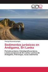 Sedimentos jurásicos en Andigama, Sri Lanka