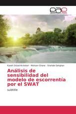 Análisis de sensibilidad del modelo de escorrentía por el SWAT