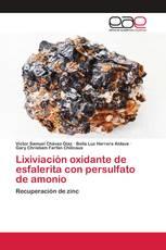 Lixiviación oxidante de esfalerita con persulfato de amonio