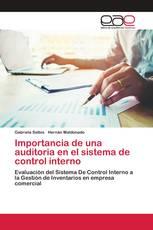 Importancia de una auditoria en el sistema de control interno