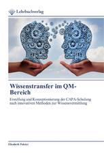 Wissenstransfer im QM-Bereich