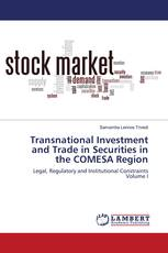Transnational Investment and Trade in Securities in the COMESA Region