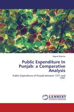 Public Expenditure In Punjab: a Comparative Analysis