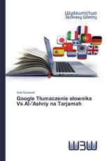 Google Tłumaczenie słownika Vs Al-'Ashriy na Tarjamah
