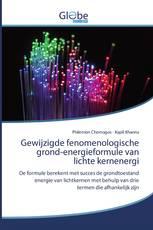 Gewijzigde fenomenologische grond-energieformule van lichte kernenergi