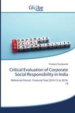 Critical Evaluation of Corporate Social Responsibility in India
