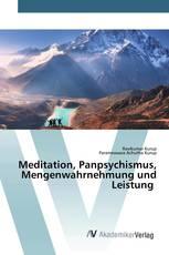 Meditation, Panpsychismus, Mengenwahrnehmung und Leistung
