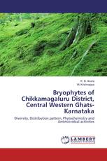 Bryophytes of Chikkamagaluru District, Central Western Ghats-Karnataka