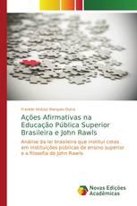 Ações Afirmativas na Educação Pública Superior Brasileira e John Rawls