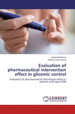 Evaluation of pharmaceutical intervention effect in glicemic control