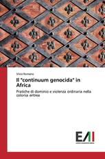 """Il """"continuum genocida"""" in Africa"""