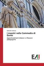 I maestri nella Commedia di Dante