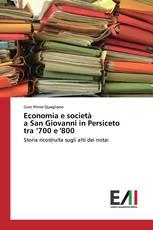 Economia e società a San Giovanni in Persiceto tra '700 e '800