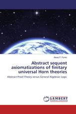 Abstract sequent axiomatizations of finitary universal Horn theories
