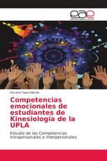 Competencias emocionales de estudiantes de Kinesiología de la UPLA