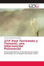 27/F Post Terremoto y Tsunami; una Intervención Psicosocial