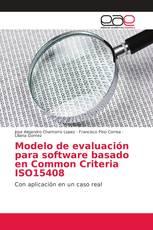 Modelo de evaluación para software basado en Common Criteria ISO15408