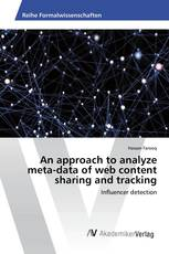 An approach to analyze meta-data of web content sharing and tracking