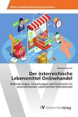Der österreichische Lebensmittel Onlinehandel