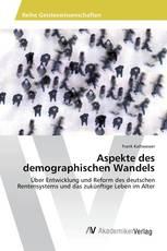 Aspekte des demographischen Wandels