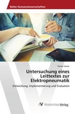 Untersuchung eines Leittextes zur Elektropneumatik
