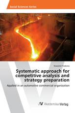 Systematic approach for competitive analysis and strategy preparation
