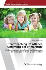 Teamteaching im offenen Unterricht der Primarstufe