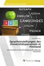 Spracheinstellungen des Universitätspersonals in Finnland