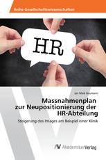 Massnahmenplan zur Neupositionierung der HR-Abteilung