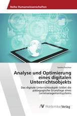 Analyse und Optimierung eines digitalen Unterrichtsobjekts