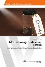 Motivationsgründe einer Person
