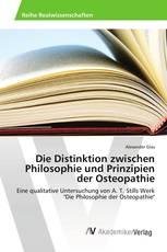 Die Distinktion zwischen Philosophie und Prinzipien der Osteopathie