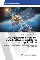 Code generation from on-board software models for space applications