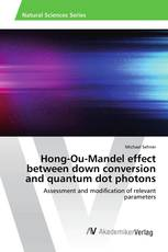 Hong-Ou-Mandel effect between down conversion and quantum dot photons